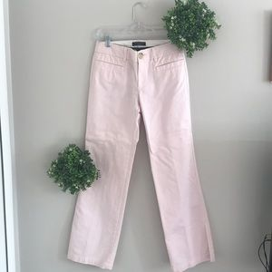 "Banana Republic light pink ""Martin"" pants size 4"